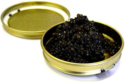 kaviaar het zwarte goud